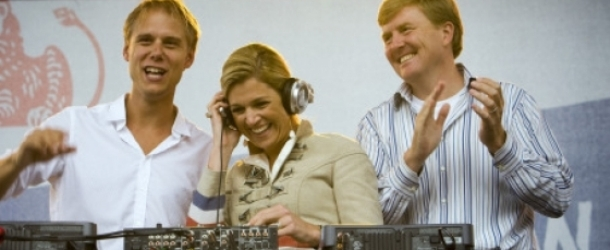 Armin to perform for new crowned king and queen of The Netherlands