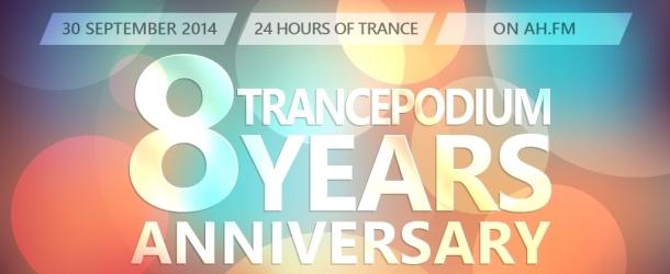 TrancePodium 8th Anniversary Celebration date is set!