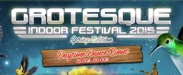 Win: tickets for Grotesque Indoor Festival 2015: Spring Edition