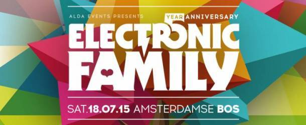 Line-up Electronic Family with many icons