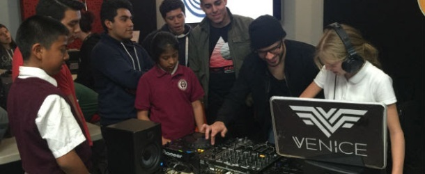 Venice gives workshop for at risk youth in LA
