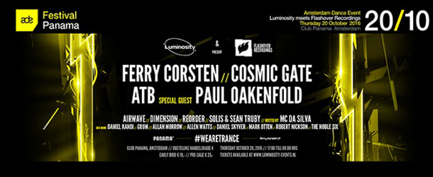 Luminosity meets Flashover Recordings at ADE