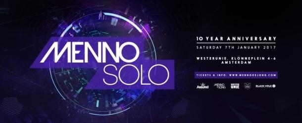 Menno Solo 2017 – 10 Year Anniversary
