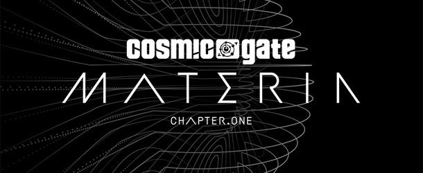 Cosmic Gate release tracklist for the 'Materia' album