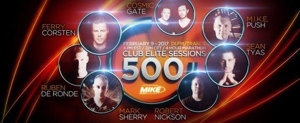 M.I.K.E. Push presents Club Elite Sessions 500