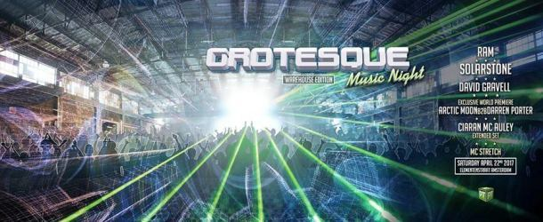 Grotesque goes underground with Music Night – Warehouse Edition