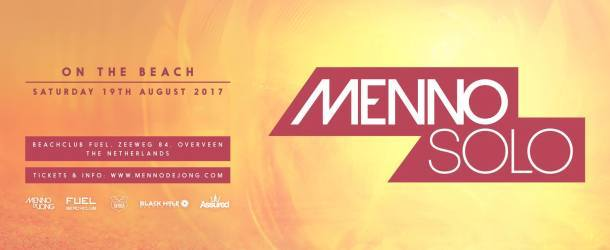 Menno Solo On The Beach 2017