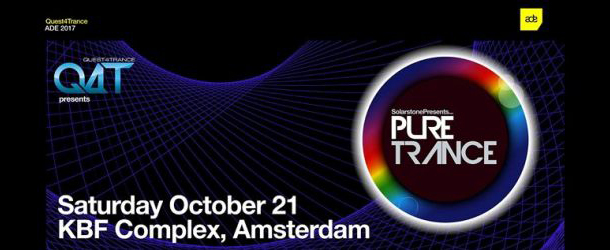 Quest4Trance & Solarstone presents Pure Trance ADE 2017