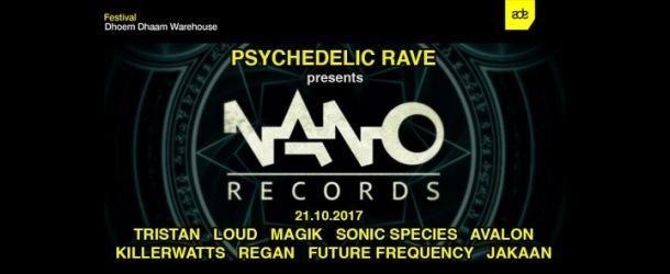 Psychedelic Rave pres. NANO Records ADE Showcase