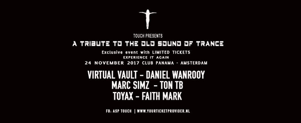 Special Touch - A tribute to the old sound of Trance