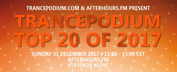 TrancePodium Top 20 Tracks Of 2017: the broadcast