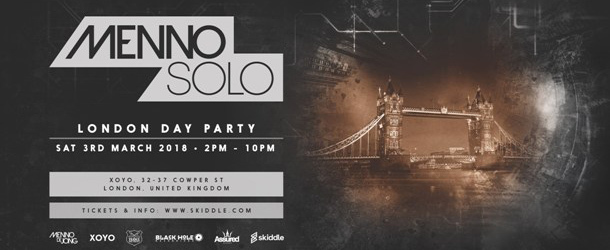 Menno Solo - London Day Party