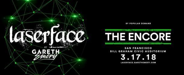 Win: 2 entrance tickets to Gareth Emery pres. Laserface: The Encore