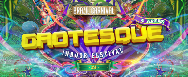 Grotesque Indoor Festival #350 – A first class joyride!