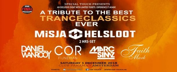 Special Touch pres. A tribute to the best Trance classics ever