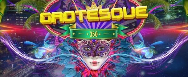Grotesque 350 mixed by RAM, Alex M.O.R.P.H. & Alex Di Stefano