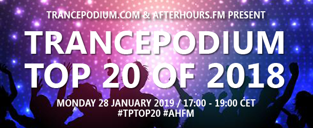 TrancePodium Top 20 Tracks Of 2018: the broadcast
