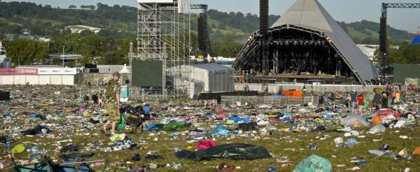 UK Festivals produce 23,500 tonnes of waste with audiences consuming 10 million plastic bottles per year