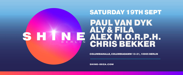 SHINE-time Berlin! Paul van Dyk reveals details of first hometown SHINE event