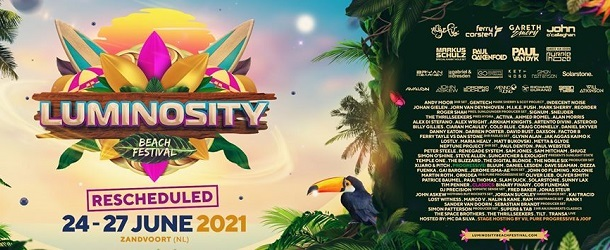 Luminosity Beach Festival 2020 rescheduled