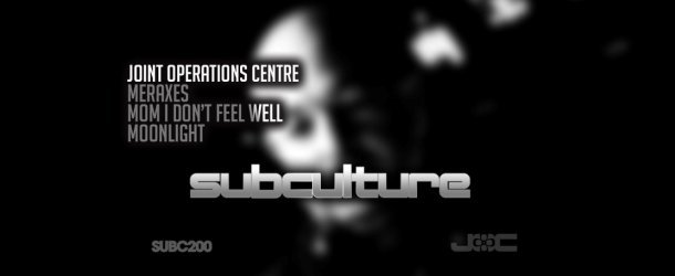 Subculture hits its 200th release with Joint Operations Centre triple-track EP