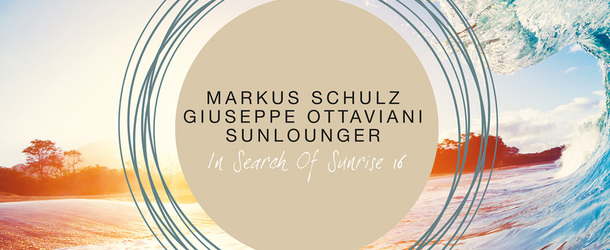 In Search Of Sunrise 16 mixed by Markus Schulz, Giuseppe Ottaviani & Roger Shah pres. Sunlounger