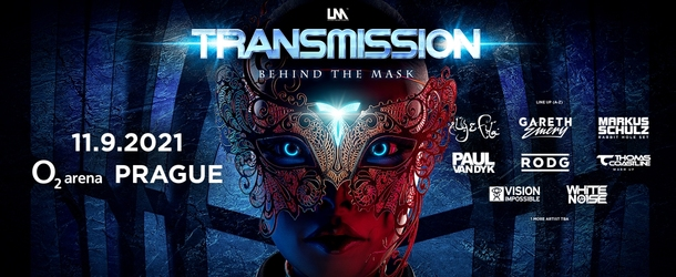 Transmission Prague presents the 'Behind The Mask' theme!