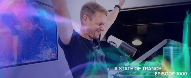 Armin van Buuren reaches over 50 million fans with historic 1000th episode of A State Of Trance radio show and countdown stream