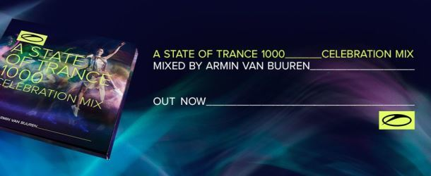 Armin van Buuren extends ASOT 1000 celebrations with release of mix album: 'A State Of Trance 1000 Celebration Mix'