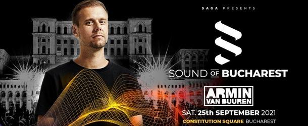 Armin van Buuren announces exclusive Romanian solo show at 'Sound Of Bucharest'