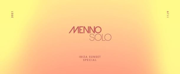 Menno Solo - The Finale again postponed, limited capacity event instead!