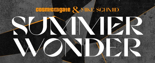 Rewind to the summer with the new single from Cosmic Gate & Mike Schmid: 'Summer Wonder'