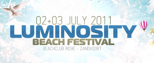 Luminosity Beach Festival 2011 timetable announced
