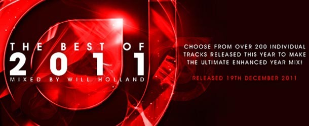 Enhanced Best of 2011 - Mixed by Will Holland