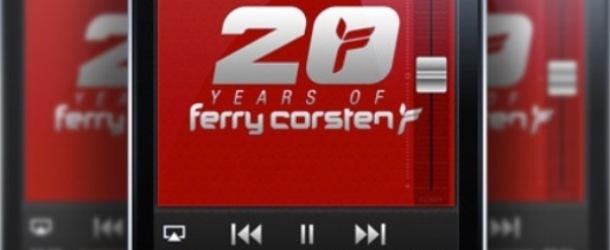 Ferry Corsten presents 20 Years Mega Mix App