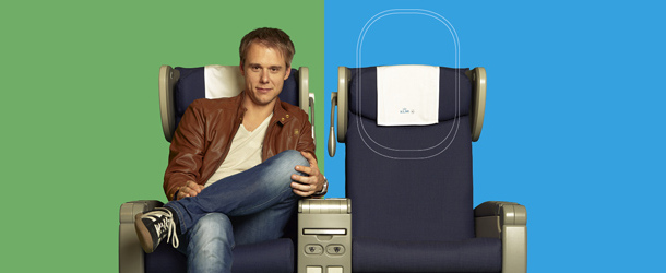 Join Armin on a plane ride