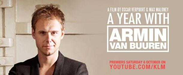 KLM premiers 'A year with Armin van Buuren' on Youtube