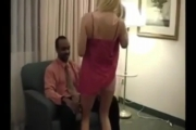 Porno vintage : Une salope blonde et un black TTBM