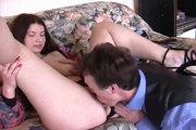 Champignon éclate un trou du cul