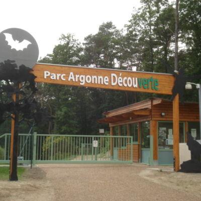 Entrée du Parc Argonne Découverte