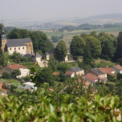 Photo aérienne de Cornay