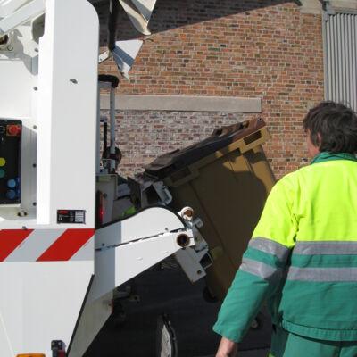 Tournée de ramassage des ordures ménégères