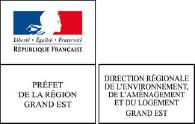 Logo de la Direction Régionale de l'Environnement, de l'Aménagement et du Logement