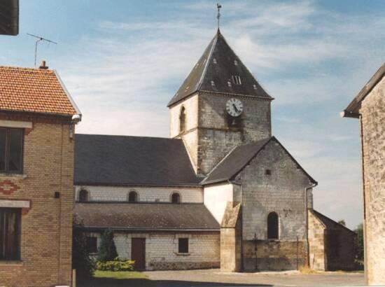 Église de Saint-Clément à Arnes