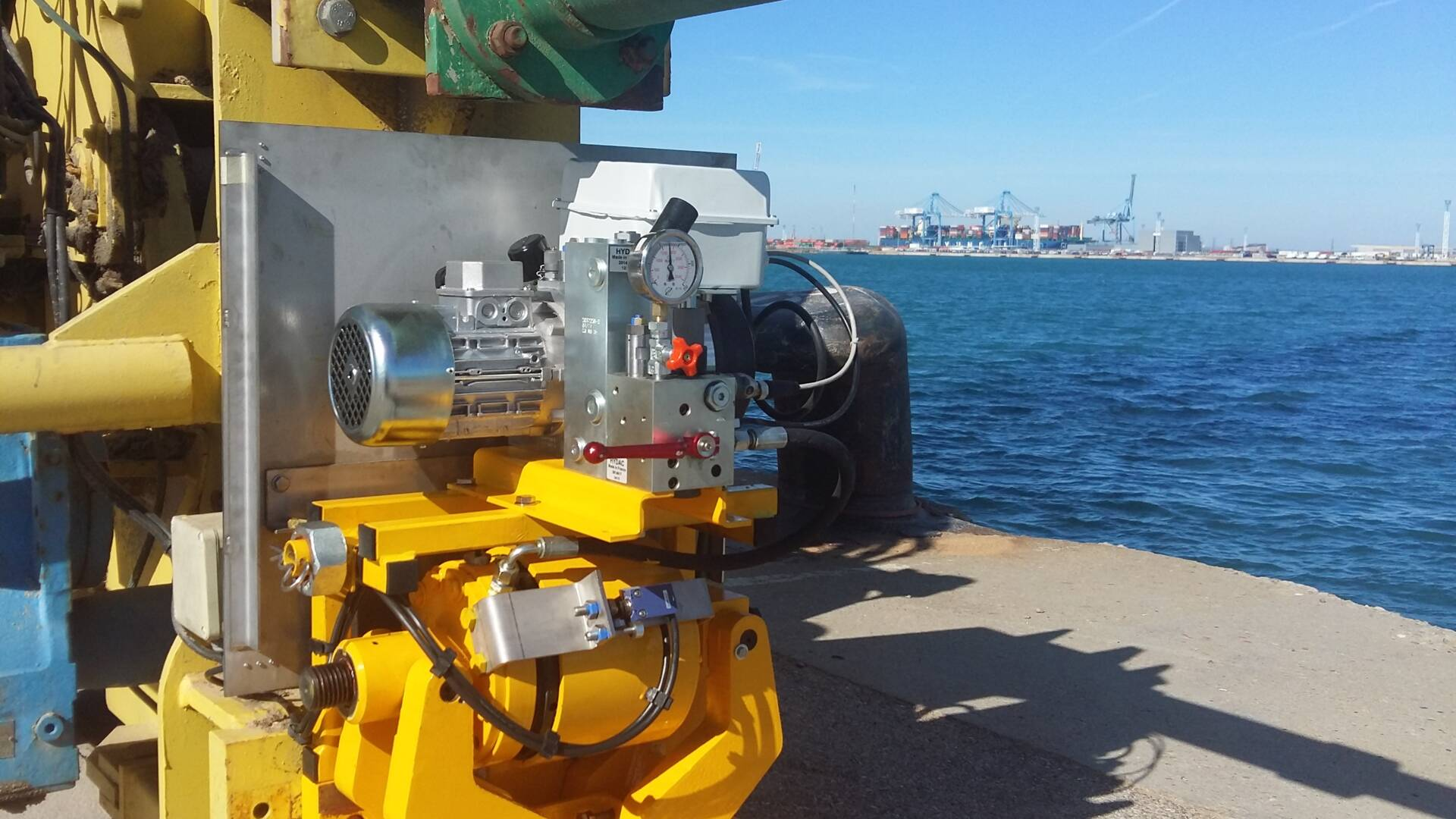Pince-rail ATV SH300K Carfos Quai des Tellines