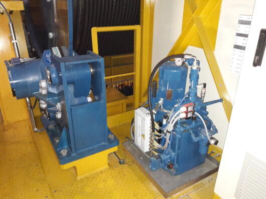 Pinces ATV S400SH ATV114 sur levage 375t REEL ITER Cadarache