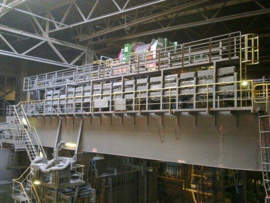 Pont de coulée ArcelorMittal Brême
