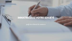 immatriculation societe