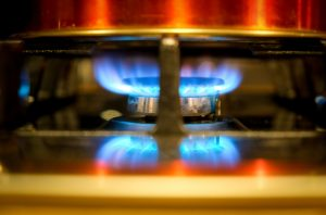feu à gaz