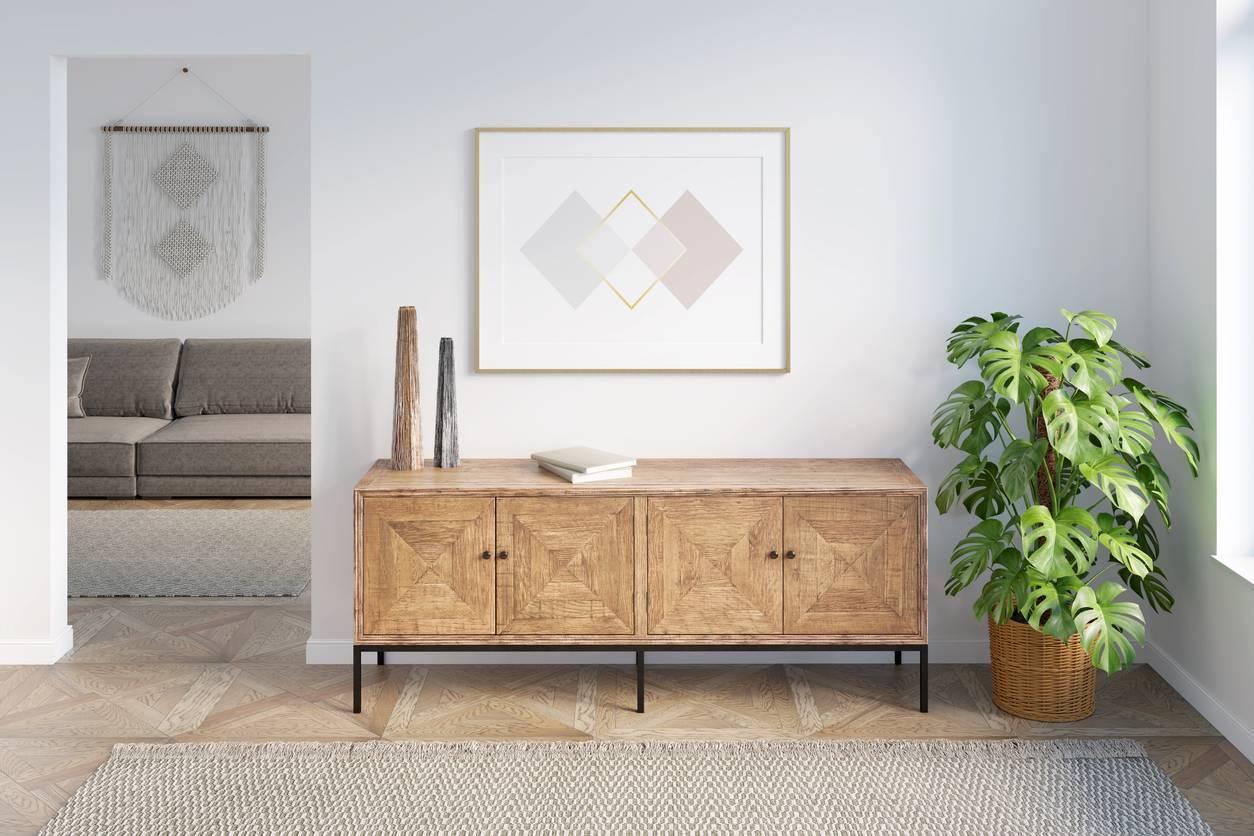 décoration meuble en bois